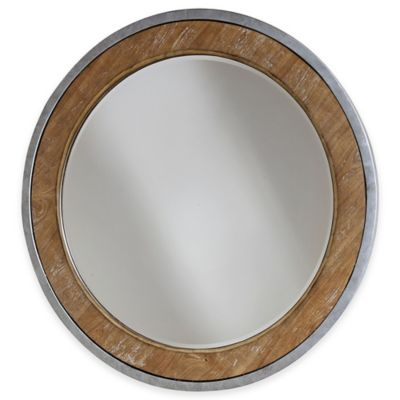Stein World Palos Heights Mirror in Light Brown