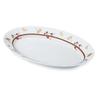Philippe Deshoulieres Gingko 11-Inch Oval Platter