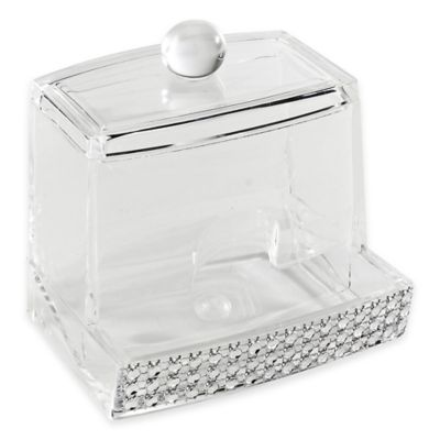 Laura Ashley® Imitation Pave Diamond Cotton Swab Holder