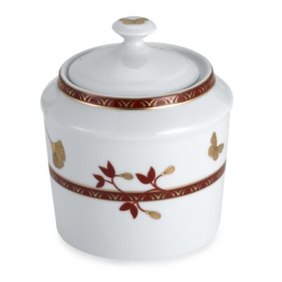 Philippe Deshoulieres Gingko 9-Ounce Sugar Bowl