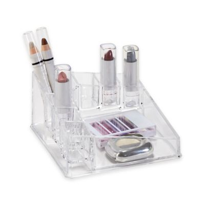 Corner Cosmetic and Jewelry Holder