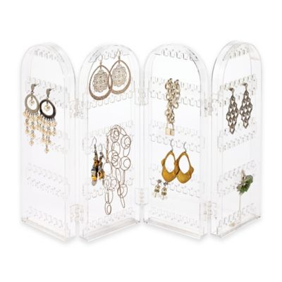 4-Section Folding Earring Holder