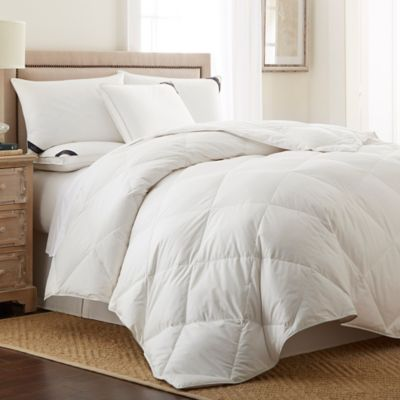 Pendleton® Classic Wool-Down Reversible King Comforter in White