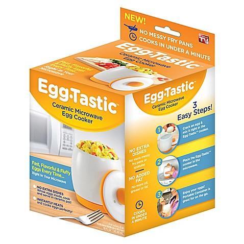Egg Tastic Ceramic Microwave Egg Cooker Bed Bath Amp Beyond