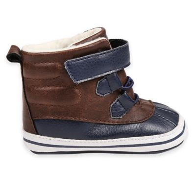 Brown/Navy Boys' Shoes