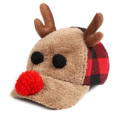 Rising Star™ Newborn Buffalo Reindeer Hat in Brown