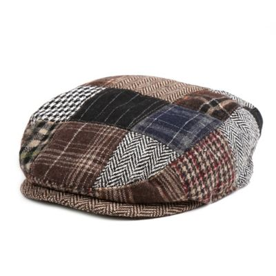 Rising Star™ Toddler Patchwork Cabbie Hat in Brown