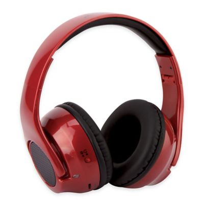 HD TWIST Over-the-Ear Headphones to Hybrid Speakers in Red
