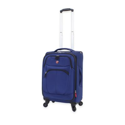 Wenger SwissGear 20-Inch NeoLite Plus Carry-On Spinner in Blue