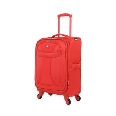 Wenger 20-Inch Lightweight Expandable Carry On Spinner in Orange