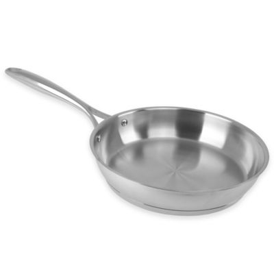 Buy All Clad Stainless Steel 10 Inch Fry Pan With Lid From