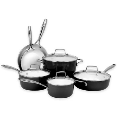 Oneida® Ceramic Nonstick 10-Piece Cookware Set