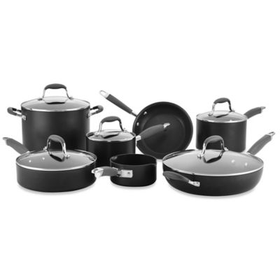 Advanced Hard Anodized Nonstick 12-Piece Cookware Set