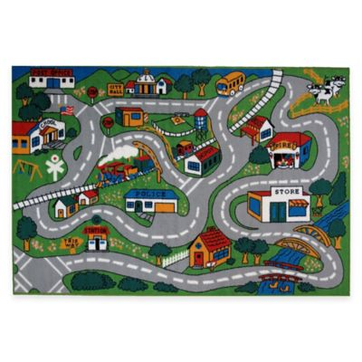 Fun Rugs™ Country Fun 1-Foot 7-Inch x 2-Foot 5-Inch Accent Rug