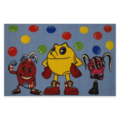Fun Rugs® Pacman 4-Foot 10-Inch x 3-Foot 3-Inch Area Rug