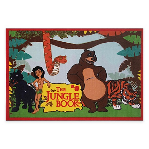 Room Decor > Fun Rugs® The Jungle Book™ 4-Foot 10-Inch x 3-Foot 3-Inch Area Rug