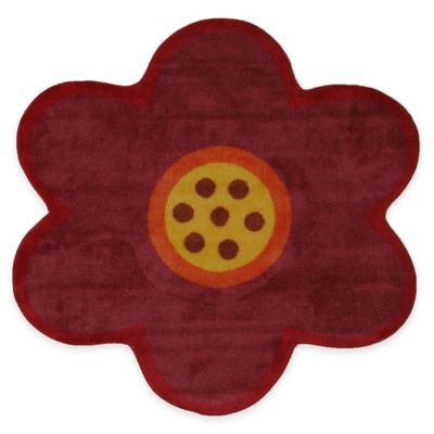 Fun Rugs™ Fun Time Pink Poppy 3-Foot 3-Inch Round Rug