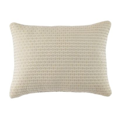 Croscill® Devon Boudoir Throw Pillow in Natural