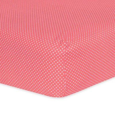 Trend Lab® Cocoa Coral Fitted Crib Sheet