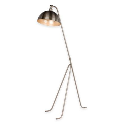 Fangio Lighting 60-Inch Metal Tripod Floor Lamp