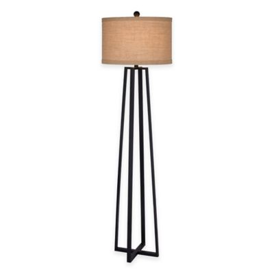Fangio Lighting Floor Lamp in Black