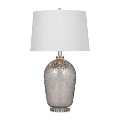 Bassett Mirror Company Ramsey Table Lamp in Mercury