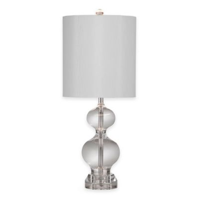 Bassett Mirror Company Maiden Table Lamp in Crystal