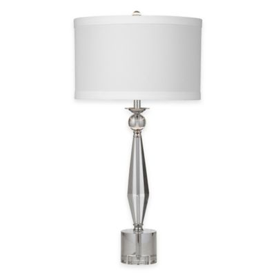 Bassett Mirror Company Lexie Table Lamp in Crystal
