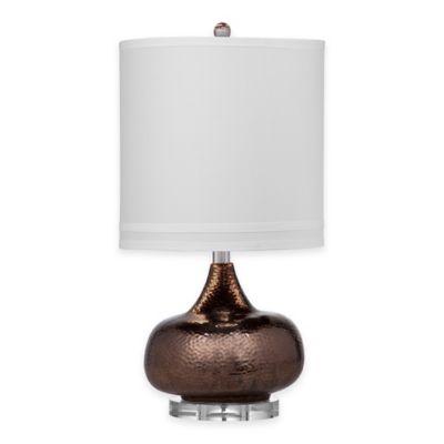 Bassett Mirror Company Carson Table Lamp in Copper