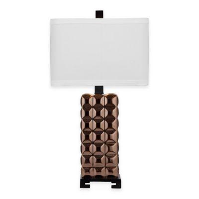 Bassett Mirror Company Sonoma Table Lamp in Copper