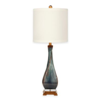 Bassett Mirror Company Sheridan Table Lamp in Grey