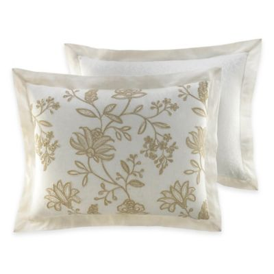 Croscill® Devon Standard Pillow Sham in Natural