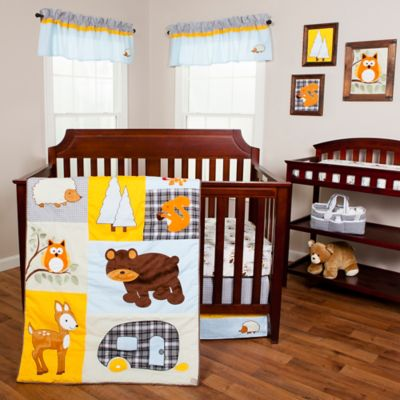 Trend Lab® Let's Go Camping 3-Piece Crib Bedding Set