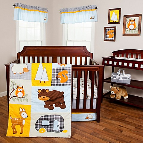 Buy Trend Lab 174 Let S Go Camping 3 Piece Crib Bedding Set