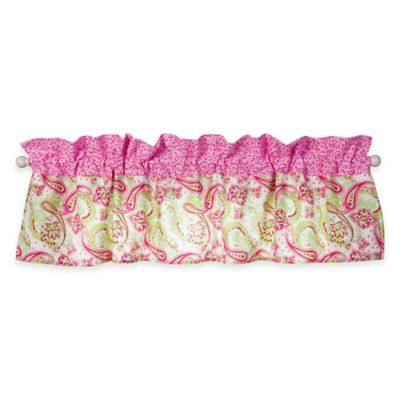 Trend Lab® Elephant Flowers Window Valance