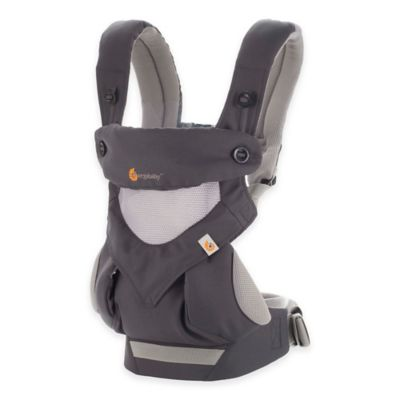 Baby Carriers > Ergobaby™ Four-Position 360 Cool Air Baby Carrier in Carbon Grey