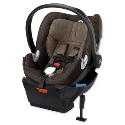 Cybex Aton Q Plus 2015 Infant Car Seat with Load Leg Base in Desert Khaki