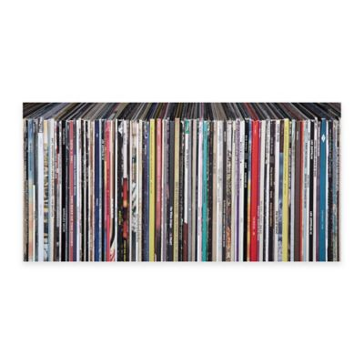 Vinyl Records Canvas Wall Art