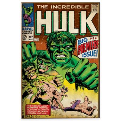 Hulk Big Issue #102 Wall Décor Plaque