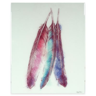 Bohemian Feather Framed Wall Art