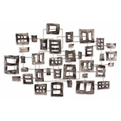 Buckles Steel Wall Art Sculpture