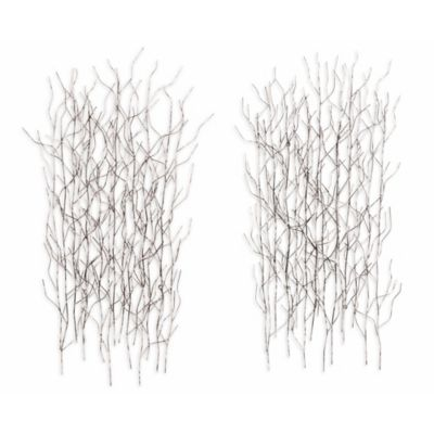 December Steel Wall Art (Set of 2)