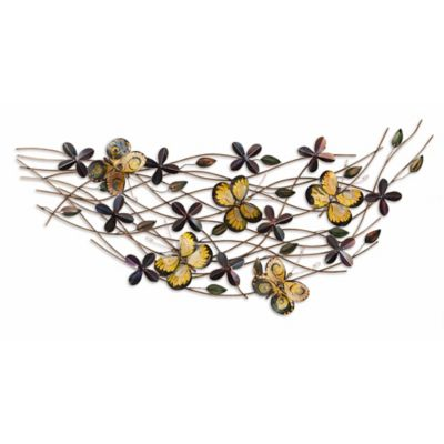 Butterfly Field Steel Wall Art Sculpture