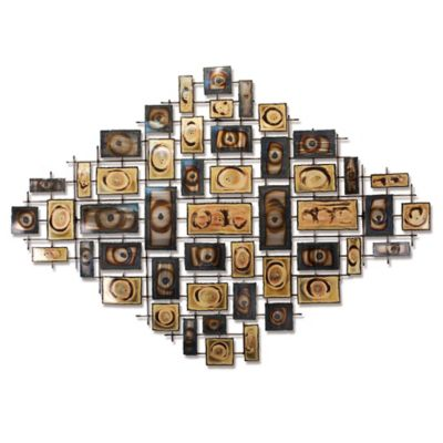 Alexandria Unity Steel Wall Art Sculpture