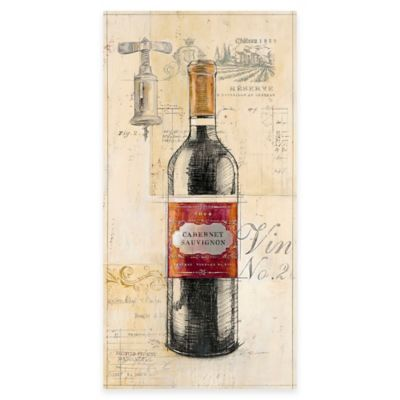 Special Reserve Wine Canvas Wall Art