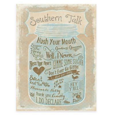 Southern Talk Gallery Canvas Wall Art