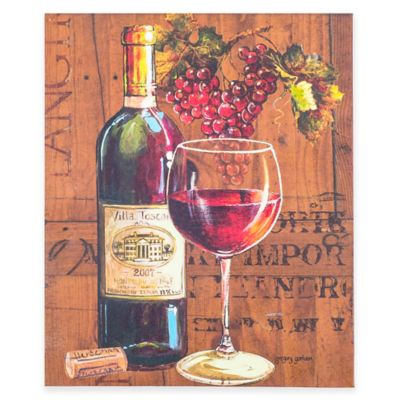 Enjoy Red Wine Canvas Wall Art