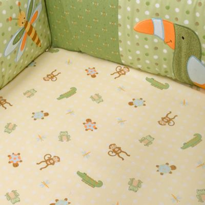 Lambs & Ivy® Papagayo 100% Cotton Crib Sheet