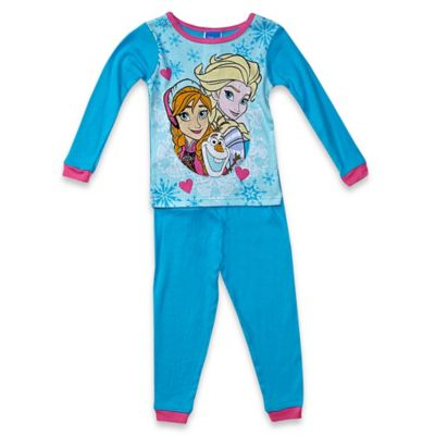 Disney® Frozen Size 2T 2-Piece Pajama Set in Blue