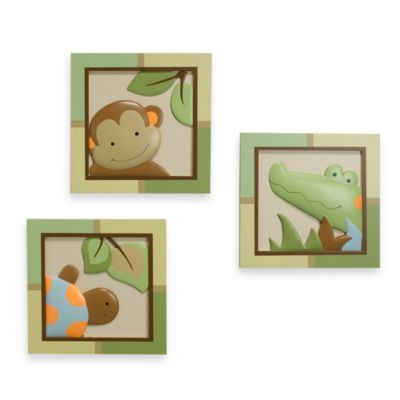 Lambs & Ivy® Papagayo 3-Piece Wall Hanging
